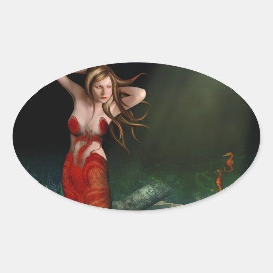 Light Mermaid Sticker