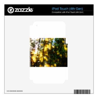 Light messengers iPod touch 4G skin