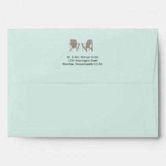 Light Mint A7 | Adirondack Chairs Envelope