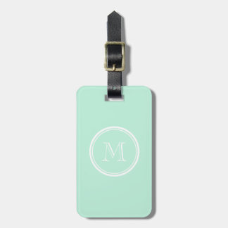 Light Mint Green High End Colored Bag Tag
