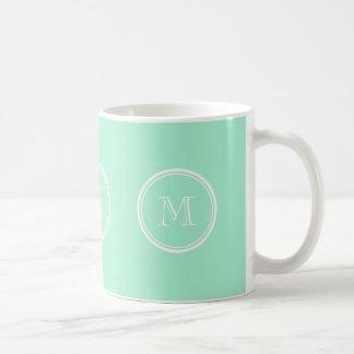 Light Mint Green High End Colored Coffee Mug