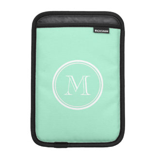 Light Mint Green High End Colored iPad Mini Sleeve