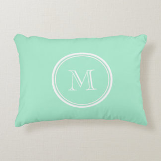 Light Mint Green High End Colored Matching Decorative Pillow