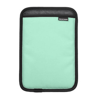 Light Mint Green High End Colored Matching Sleeve For iPad Mini