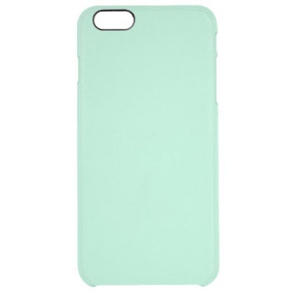 Light Mint Green High End Colored Matching Uncommon Clearly™ Deflector iPhone 6 Plus Case