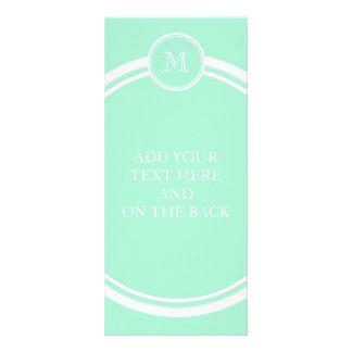 Light Mint Green High End Colored Rack Card