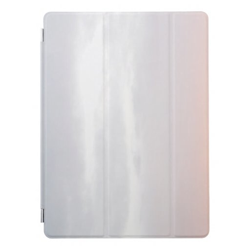 Light Morning Sky Gradient Color Photo iPad Pro Cover