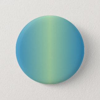 Light Moss Green and True Blue Gradient Pinback Button