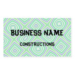 light multicolored green business cards