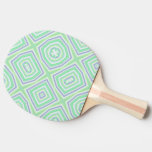 light multicolored green Ping-Pong paddle
