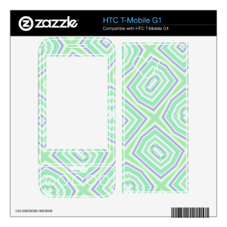 light multicolored green skins for HTC T-Mobile g1
