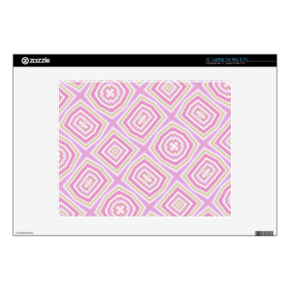 light multicolored pink laptop decals