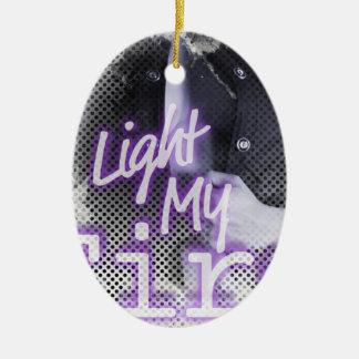 Light My Fire Body Man Ceramic Ornament
