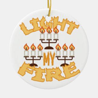 Light My Fire Ceramic Ornament