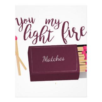 Light My Fire Letterhead