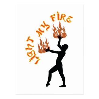 Light My Fire Postcard