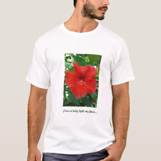 Light My Flower Tshirt