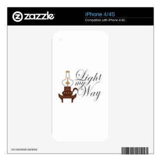Light My Way iPhone 4S Decals