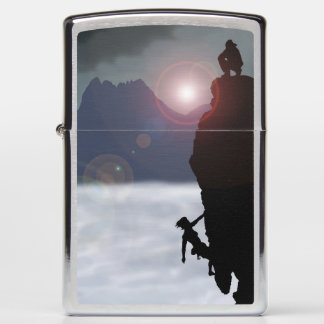 Light my way Zippo lighter