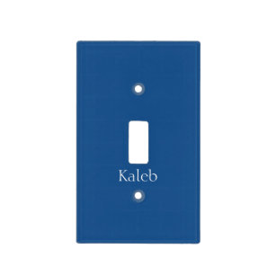 Light Navy Blue Customizable Switch Cover