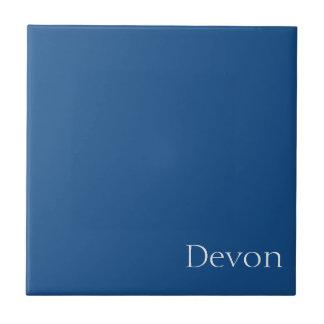 Light Navy Blue Customizable Tile