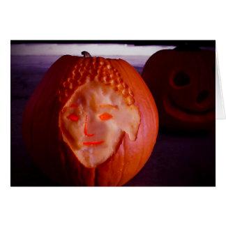 Light of Amida Pumpkin Card