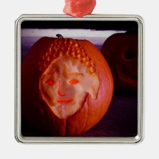 Light of Amida Pumpkin Metal Ornament