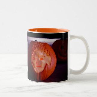 Light of Amida Pumpkin Two-Tone Coffee Mug