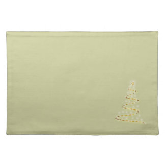 Light of Christmas Cloth Placemat