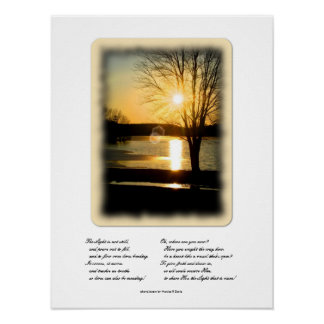 Light of God Photograph Poster
