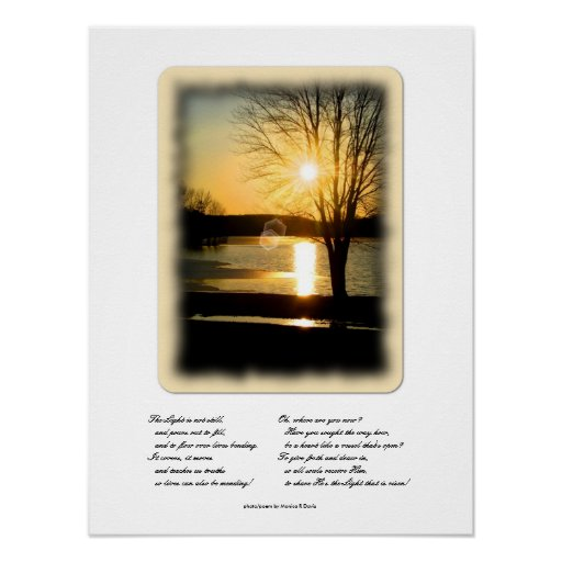 Light of God Photograph Print