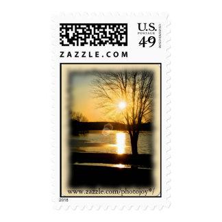 Light of God Postage Stamp