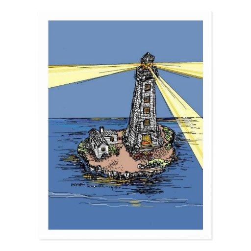 Light of Hope Lighthouse Postcard