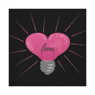 Light of Love Canvas Print