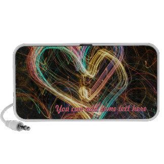 Light of Love Heart Speakers