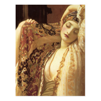 Light of the Harem - Lord Frederick Leighton Postcard