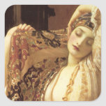 Light of the Harem - Lord Frederick Leighton Square Sticker