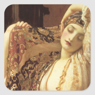 Light of the Harem - Lord Frederick Leighton Stickers