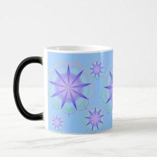 Light of the Lotus 19 in blue Magic Mug