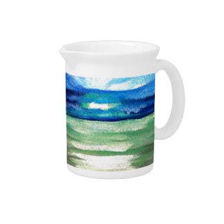 Light of the Sea - CricketDiane Ocean Art Sunlight Beverage Pitchers