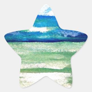 Light of the Sea - CricketDiane Ocean Art Sunlight Star Sticker