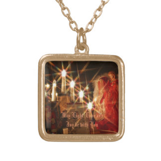 Light of the Season Gold Plated Necklace
