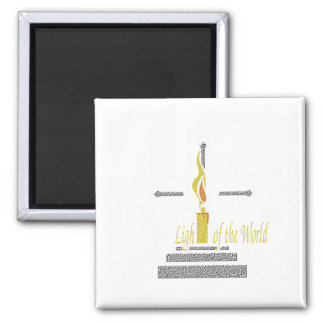 Light of the World 2 Inch Square Magnet