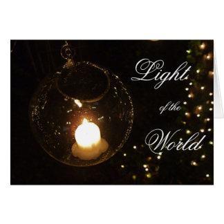 Light of the World Card