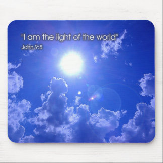 Light of the world - mousepad