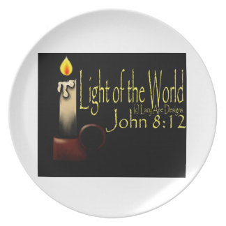 Light of the World Dinner Plate