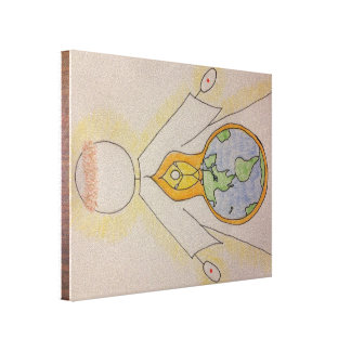 Light of the World - Wall Art Gallery Wrapped Canvas