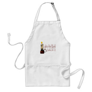 Light of the World (White) Adult Apron