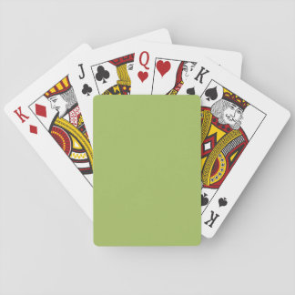 Light Olive Green colored Card Decks