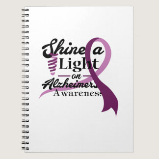 Light On Alzheimer's Awareness Support Gift Notebook